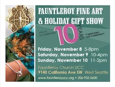 Fauntleroy Fine Art and Holiday Gift Show